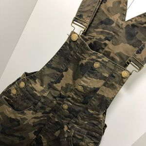 Army Fatigue Denim Twill Overalls Pants